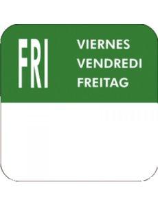 Vogue Label stickerrol voor weekdag Vrijdag
