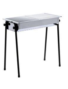 Hendi Houtskool Barbecue Patio | 2 Roosters | 770x380x(H)760mm