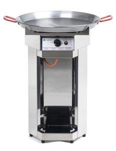 Hendi Fiesta 600 gasbarbecue | Ø 600 mm | Propaan en Butaangas