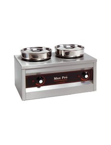 Max-Pro Thermosystem Foodwarmer Hotpot | 2x 4,5 Liter