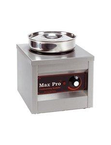Max-Pro Chocolade Warmer | Hotpot | 4,5 liter | 26x26x(H)29cm