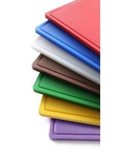 Hendi Snijplank HACCP | GN 1/1 | 530x325x(H)15mm | Keuze uit 7 kleuren