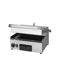 Milan Toast Contactgrill Keramisch Medium  | Gladde Platen | 2.1kW | 41x48x21 cm.