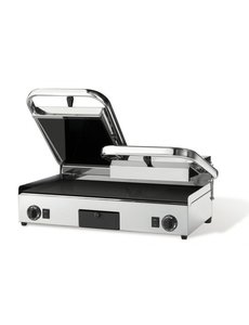 Milan Toast Contactgrill Dubbele Keramische | Gladde Platen | 230V/3.2kW | 640x480x210 mm.
