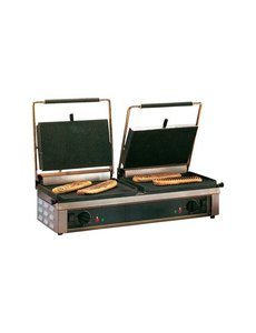 Roller Grill Contact Grill Type Double Panini Roller Grill