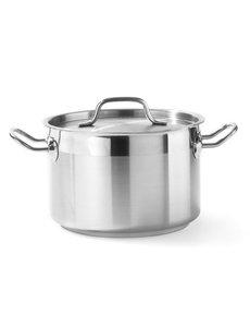 Hendi Kookpan met Deksel Profi Line  | Middel Hoog | Keuze uit 6 maten