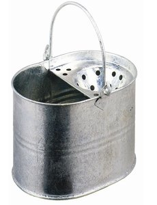 Jantex Mopemmer gegalvaniseerd 13 Liter | Vaste mop zeef