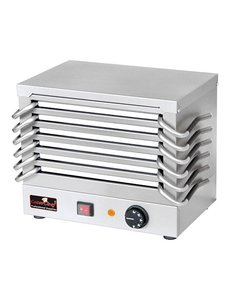 CaterChef Rechaud met 6 platen | 30° tot 150°C | 36.5x24.5xH31 cm.