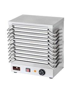 CaterChef Rechaud met 10 platen | 30° tot 150°C | 36.5x24.5xH43 cm.
