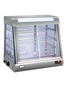 CaterChef Warmhoudvitrine van CaterChef zilver