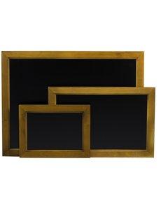 Hendi Krijtbord met Houten Lijst | 300 x 400 mm