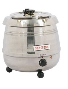 Bistro Soepketel 10 Liter | 475Watt | Au Bain Marie | RVS