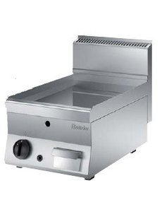Bartscher Gas Bakplaat Glad | 5kW Gas | 50 °C tot 300 °C | B 400 x D 650 x H 295 mm