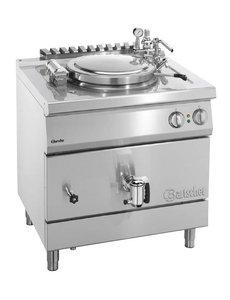 Bartscher Elektrische Kookketel met Indirecte Verwarming | 55 Liter | 400V/9kW |  B800 x D700 x H850 mm