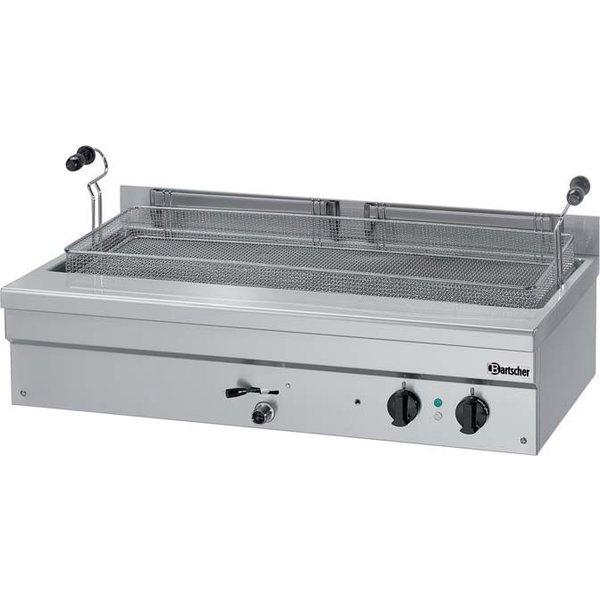 Bartscher Bakkerij Friteuse met Aftapkraan 35 Liter | 400V / 10kW | 140 °C tot 190 °C |  B1095xD600xH340 mm