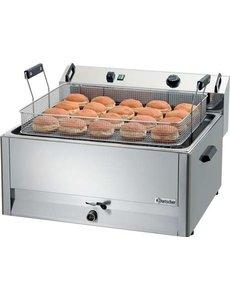 Bartscher Bakkerij Friteuse met Aftapkraan| Inhoud 30 liter | 15kW 400V |  B660 x D650 x H410 mm,
