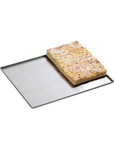 Bartscher Bakplaat met 4 Zijranden Aluminium | 600x400 mm.