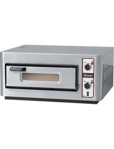 Bartscher Pizzaoven NT 501 | Voor 4 Pizza's max. Ø 25 cm. | 4kW / 400Volt |  85 °C tot 450 °C