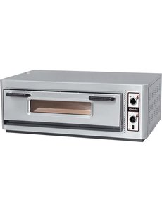 Saro Pizzaoven   6 Pizza's Ø 30 cm.   400V / 6kW   NT 901