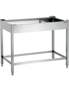 Bartscher Onderbouw voor Pizzaoven NT901N | B1.150 x D665 x H900 mm