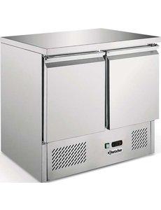 Mini-koelwerkbank, luchtgekoeld 2 deuren