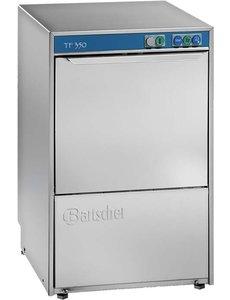 Bartscher Glazenspoelmachine met Afvoerpomp | 350x350 mm. | Deltamat TF350LP |  2230V / 2.59kW