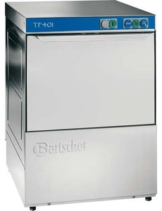 Bartscher Glazenspoelmachine met Waterontharder | 400x400 cm. |Deltamat TF401H | 230V / 3.2kW