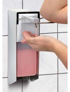 Bartscher Zeepdispenser voor Wandmontage Elleboogbediening | 0.9 Liter