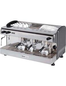 Bartscher Espresso Koffiemachine met 3 Groepen Coffeeline | 400V/4.3kW |  B967 x D580 x H523 mm