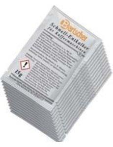 Bartscher Snelontkalker voor Koffiemachines | 30 zakjes à 15 gram