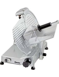 Bartscher Schuine Snijmachine 300 Plus | Ø Mes 300 mm. | 200Watt