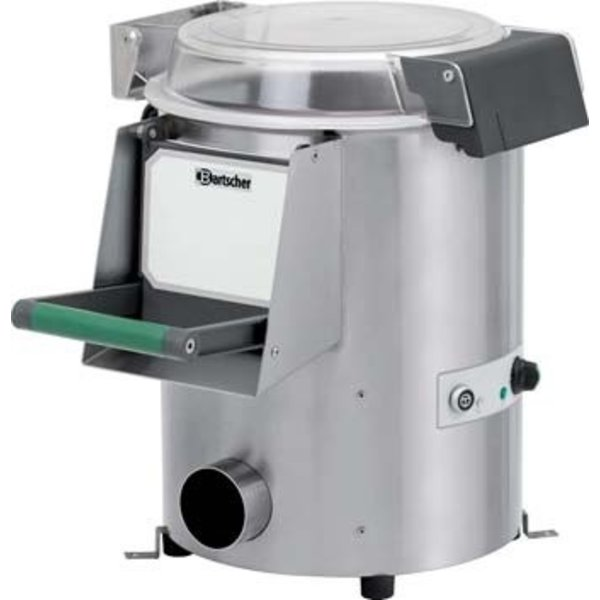 Bartscher Aardappelschilmachine   Inhoud 5 kilo   230V / 0.37kW    B610xD520xH560 mm.
