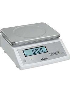 Bartscher Keukenweegschaal 15 kg | 2gr. Gradatie  | 28x33xH12.5 cm.
