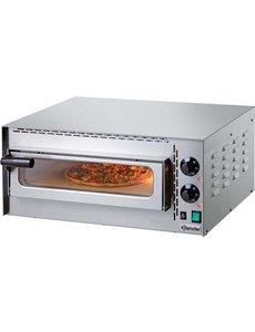 "Bartscher Pizzaoven ""Mini Plus"" | 1 pizza Ø 35 cm | 2000W / 230V |  50 °C tot 400 °C"