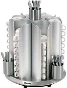 Bartscher Koppenwarmer voor 48 kopjes | 200Watt | 30 °C tot 45 °C