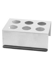 EMGA Frietzakjes Houder |  Aluminium | 16 x 10 x H25 cm.