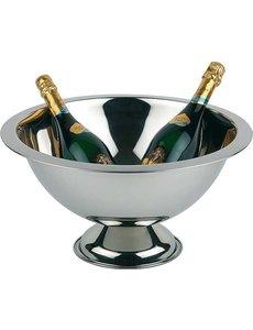 APS Champagne Bowl / Wijnkoeler | RVS | 12 Liter | Ø45x(H)23cm