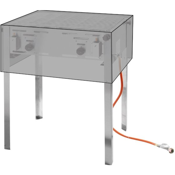 Hendi Afdekhoes voor grill- & roast- master maxi 154717 en 154878