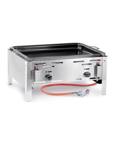 Hendi Bake Master Maxi Gasbarbecue met Bakplaat | Propaan en butaangas