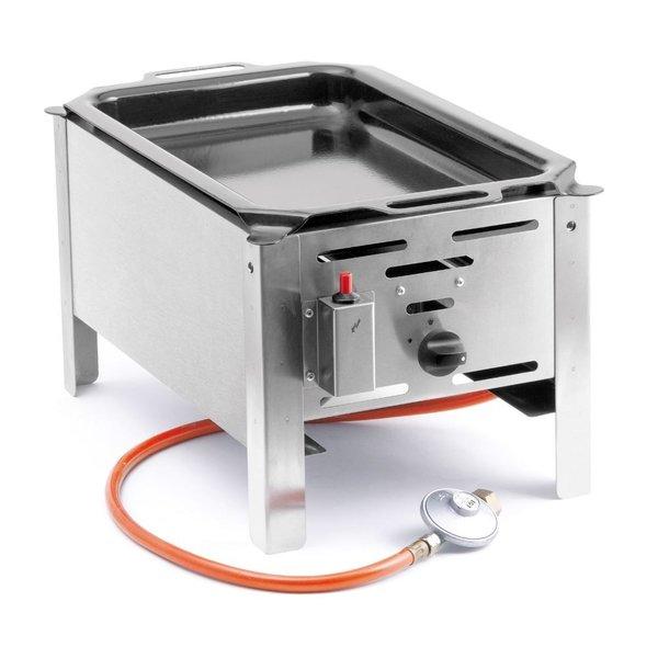 Hendi Bake Master Mini met Bakplaat | Gasbarbecue | Propaan en Butaangas