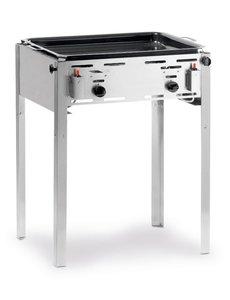 Hendi Grill Master Maxi Gasbarbecue met Bakplaat en Rooster | Propaan en Butaangas