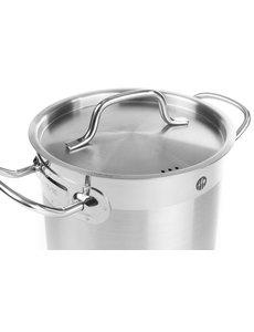 Hendi Kookpan hoog met deksel 50 liter