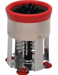 Hendi Glazen Spoelborstel | Nylon Borstel | Rond Model | Ø150x(h)190mm