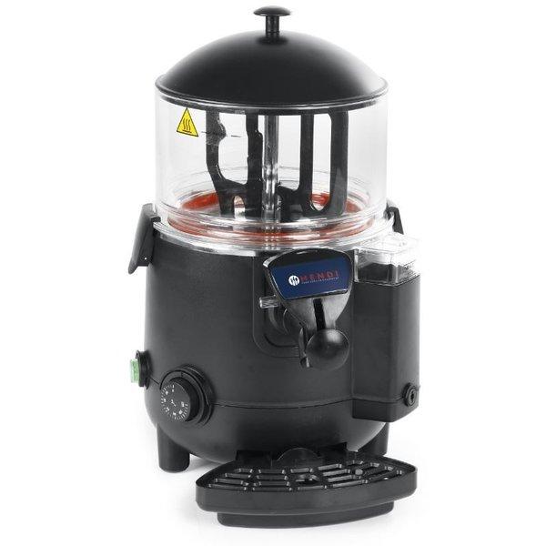 Hendi Chocolademelk Dispenser | 5 Liter | 65 tot 85°C | 410x280x(h)465 mm.