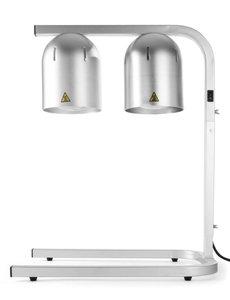 Hendi Infrarood warmhoudbrug | Zilver | 500W | 453x360x(H)790mm