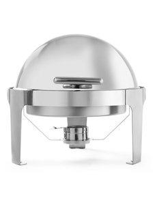 Hendi Chafing Dish Rolltop Rond  | 5,6 Liter | 510x540x(H)480mm