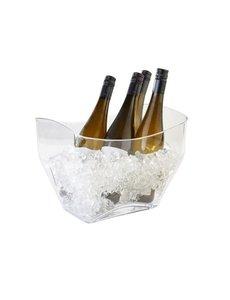 APS Wijn - Champagne koeler transparant kunststof
