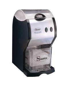 Santos IJsvergruizer Elektrische | 180 kilo/uur | Opslag 1.2 kilo | 47.5Hx24x35cm.
