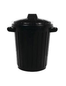 Curver Afvalcontainer met Deksel | 70 Liter | 67,5(h) x 50(Ø)cm