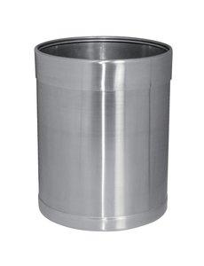 Bolero Bolero Prullenbak RVS |  10,2 Liter | 28(h) x 22,4(Ø)cm